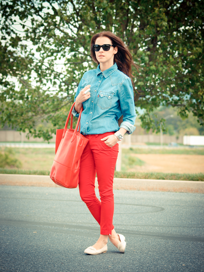 street style, bittersweet colours, COLLABORATIONS, COLORS, denim, denim trend, lebunnybleu, Levis, Mango, outfit post, Ralph Lauren, Spring trends, the shirt