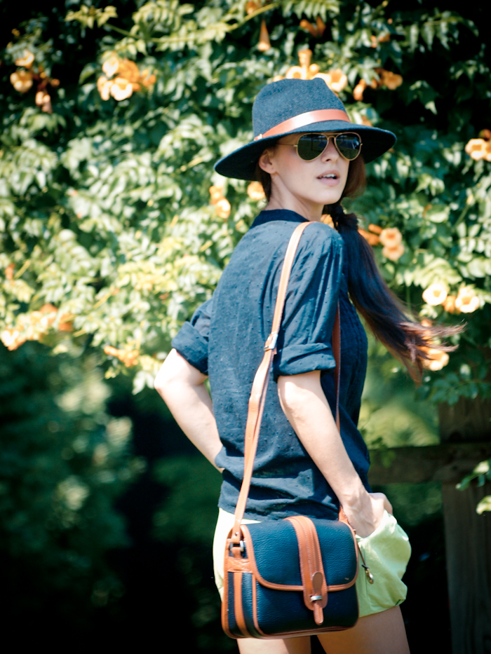 bittersweet colours, street style, colors, fashion trends, summer style, vintage, black hat