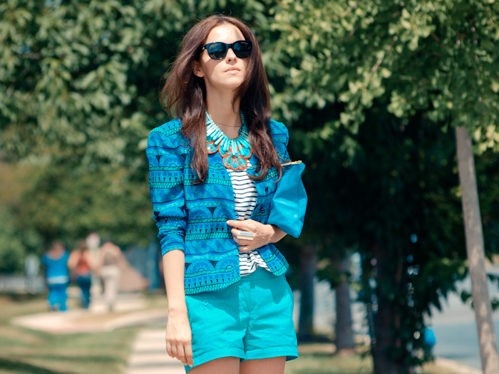 bittersweet colours, street style, colors, fashion trends, stripes, summer style