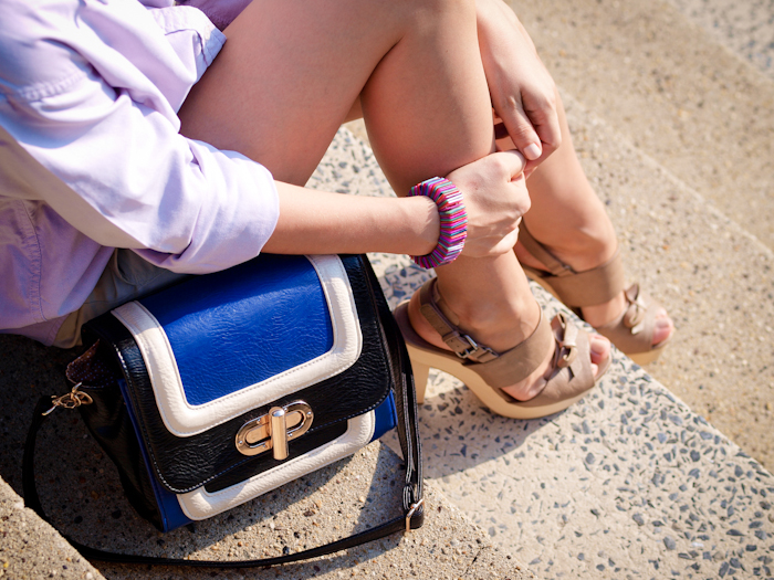 bittersweet colours, street style, colors, feminine style, summer style, nude sandals, diy jewelry,