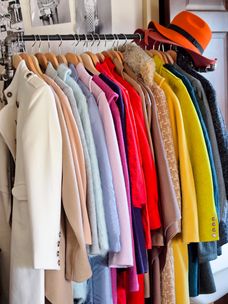 Details From My Closet Colorful Coats Bittersweet Colours
