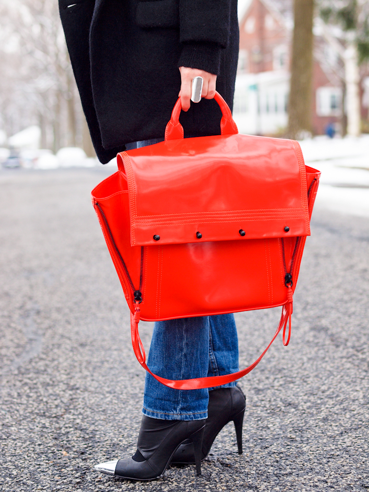 street style, winter trends, boyfriend jeans, 3.1 phillip lim bag,