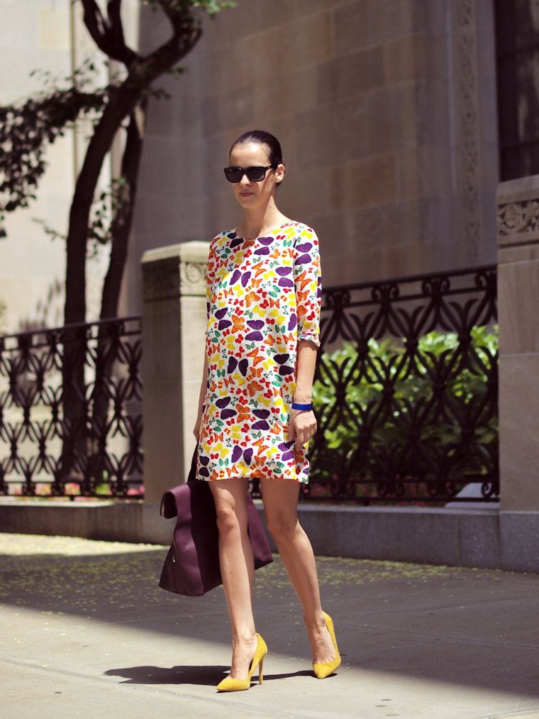 3.1 Phillip Lim, bittersweet colours, cooee jewelry, New York, nieves lavi, Printed dress, Shoemint, street style, Summer 2013 trends, COLORS, prints,