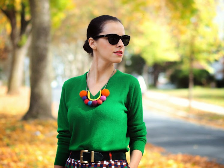 bittersweet colours, fall colors, fall 2013, 3.1 Phillip Lim, Sam Edelman, duro olowu, DIY, DIY necklace, COLORS, Burgundy, street style, prints,