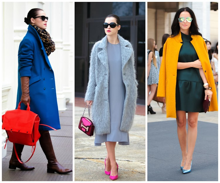 2013 outfits, 2013 trends, bittersweet colours, colorful coats, COLORS, Fall trends, fashion, prints, street style, Summer trends, winter trends,