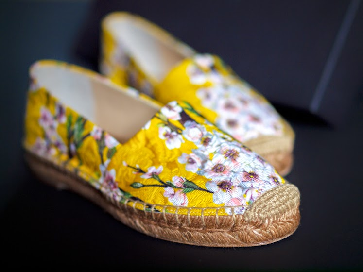 bittersweetcolours, new in, dolce gabbana, espadrilles, floral print,