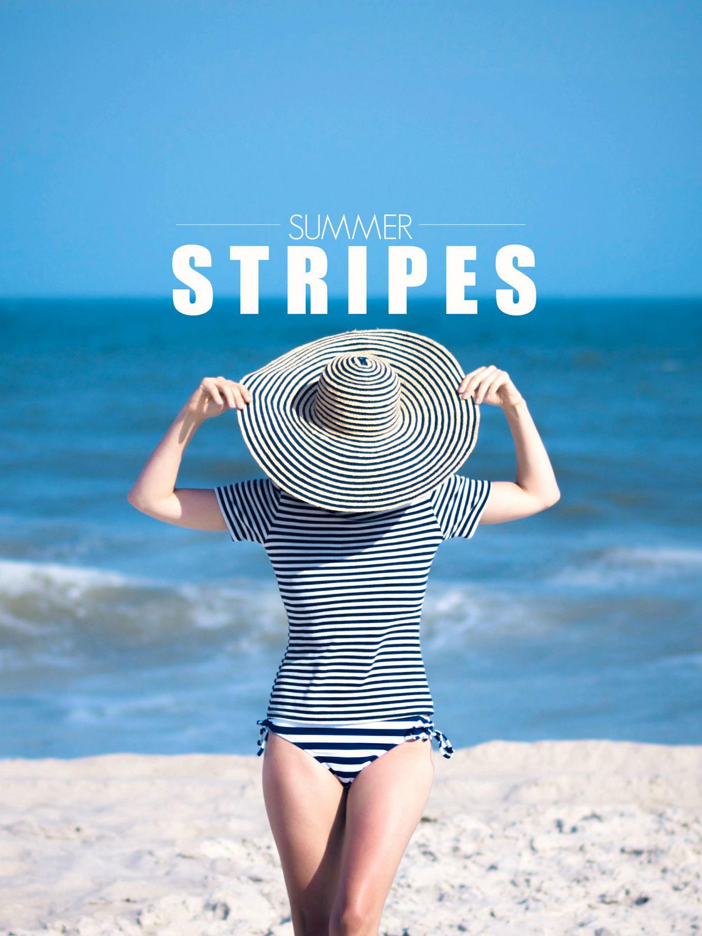 summer stripes, bittersweet colours