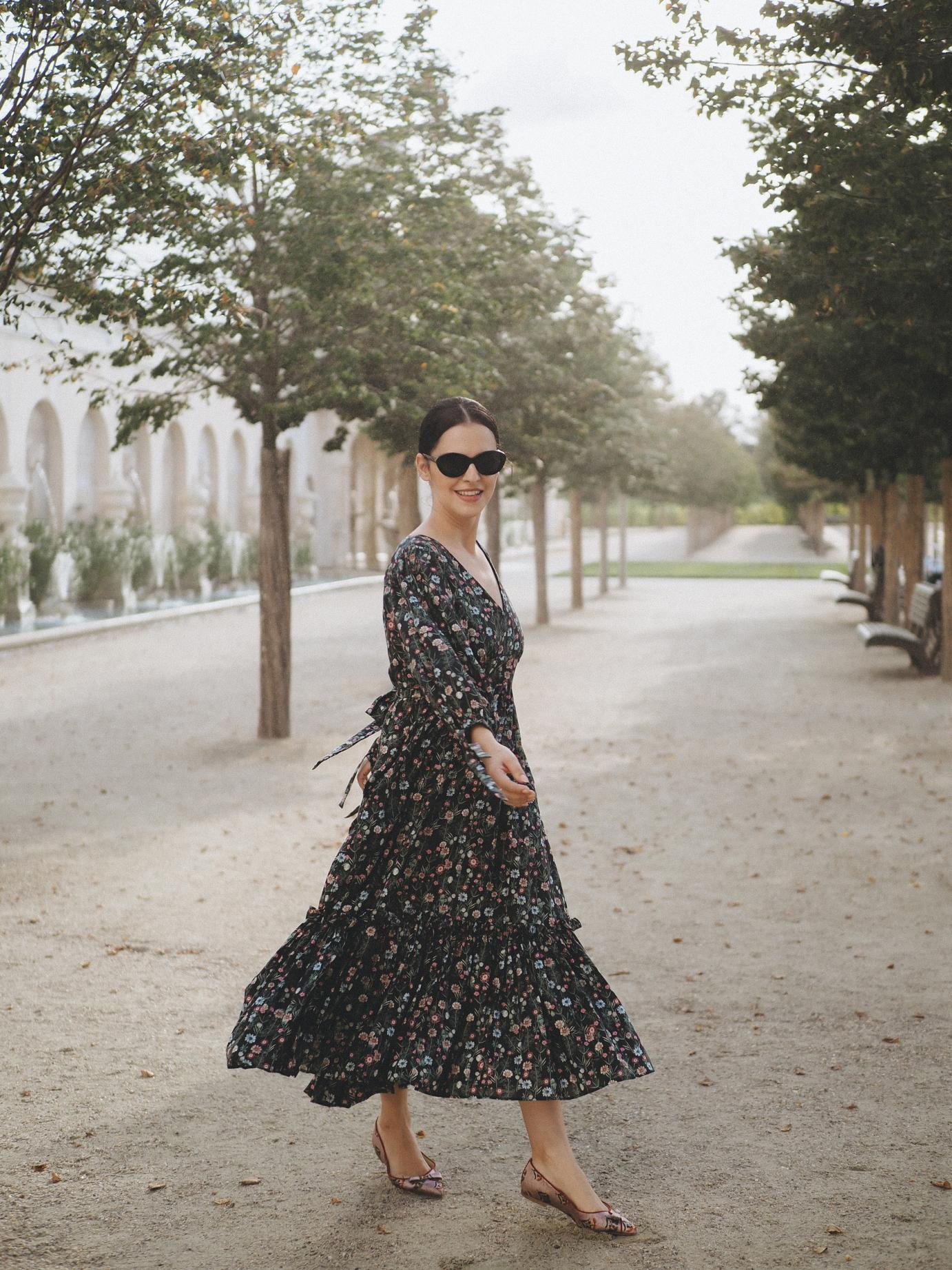 Dark florals for Fall
